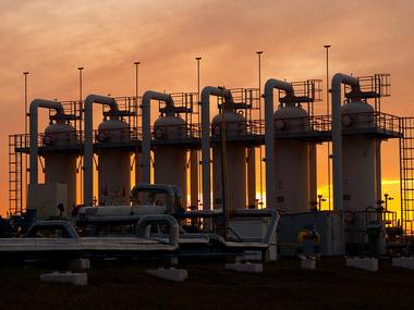 За неделю запасы газа в хранилищах сократились на 5%