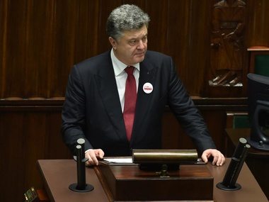 Порошенко мечтает стать депутатом Европарламента