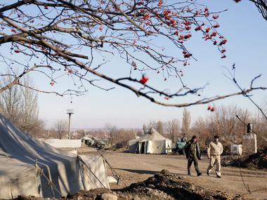 Из-за обстрелов террористов жители Луганской области остаются без газа и света