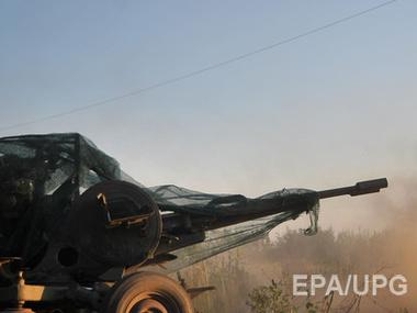 За сутки боевики обстреляли позиции АТО 25 раз