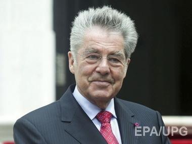 Президент австрии выступает против