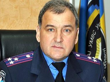 Петр Блаживский был задержан 27 декабря, на должности начальника ГАИ в Полтавской области он пробыл меньше года