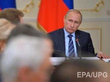 Путин обвиняет Киев в масштабном наступлении на Донбассе