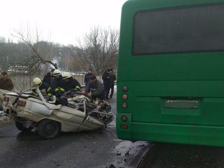 """Трое пассажиров """"Запорожца"""" погибли"""