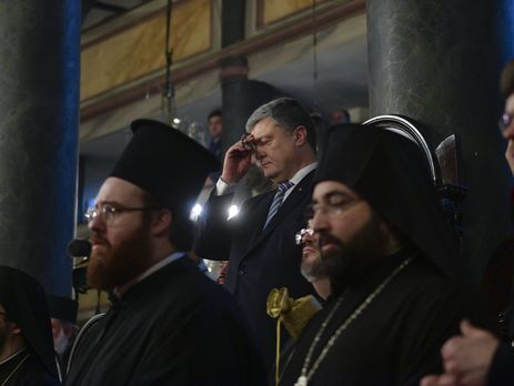 Церемония подписания томоса прошла 5 января в Стамбуле