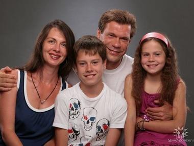 захарченко с семьей фото