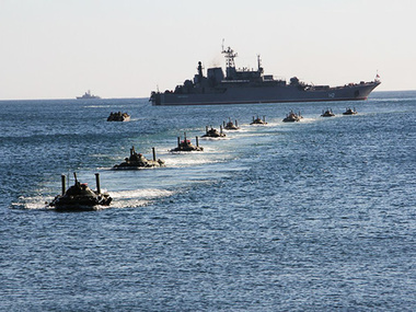 В учениях примут участие подразделения Черноморского флота