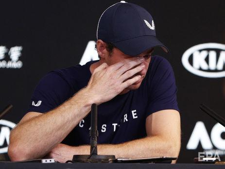 Маррей не смог сдержать слез во время пресс-конференции в Мельбурне