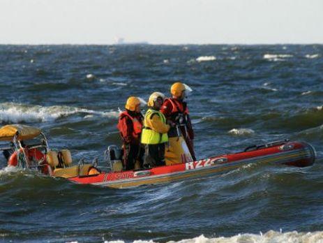 Поиски украинца вели сотрудники Морской службы поиска и спасения