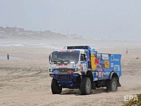 Экипаж Каргинова занимал третье место в общем зачете грузовиков