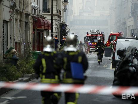 Приблизно 200 пожежників мобілізовано для усунення наслідків вибуху