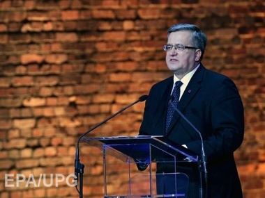 Президент Польши приедет в Украину в годовщину расстрелов на Майдане