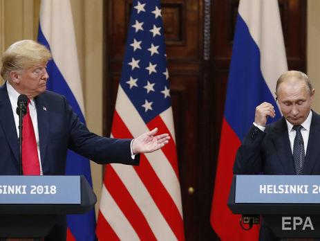Востаннє Путін і Трамп зустрічалися 16 липня в Гельсінкі