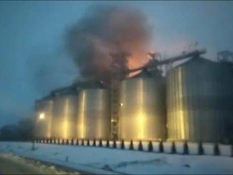 Cотрудники экстренных служб устранили пожар назаводе попроизводству растительного масла воЛьвовской области