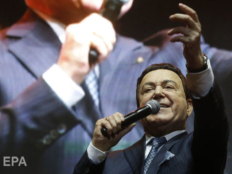 EC посмертно исключил Кобзона изчерного списка поУкраине