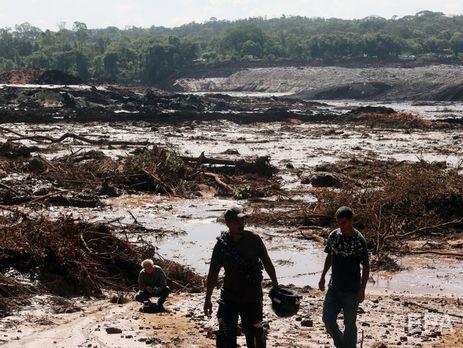 Угрозы прорыва 2-ой  дамбы вБразилии нет