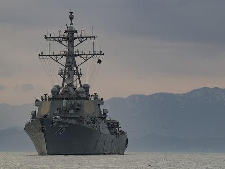 Есмінець США Donald Cook, обладнаний керованими ракетами, прямує в Одесу