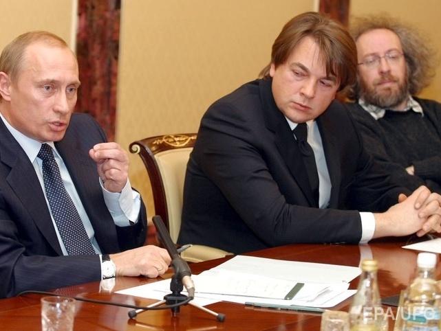 Путин и венедиктов на встрече фото