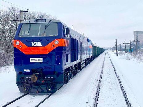 15 новых тепловозов уже работают на украинской железной дороге