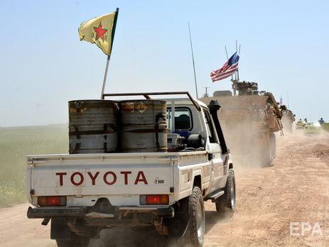 Отряды Сирийских демократических сил поддерживаются США