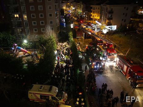 ВСтамбуле рухнул военный вертолет