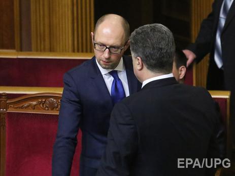Порошенко и Яценюк должны были начать проведение реформ еще в прошлом году, заявил Хербст