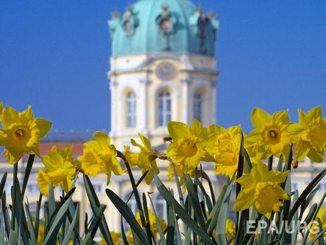 В украине сегодня тепло и без осадков