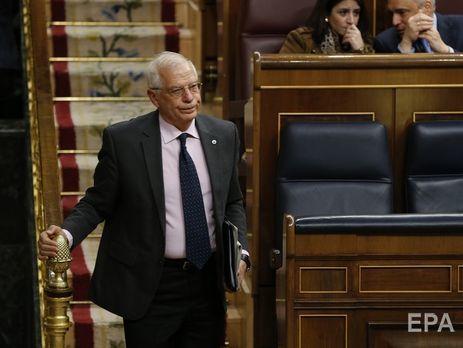 ВМИД Испании сообщили , что государство против иностранного военного вмешательства вВенесуэле