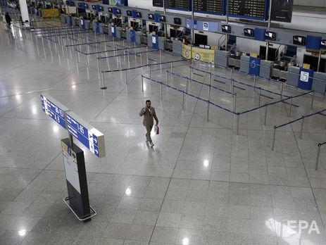 Россиянина задержали в афинском аэропорту