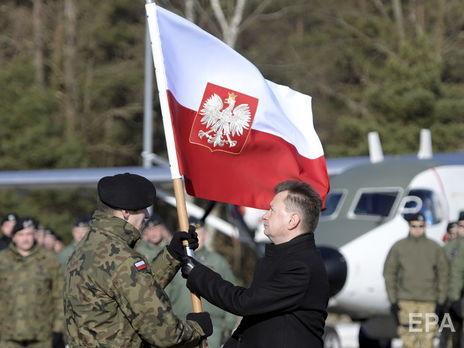У Польщі 2017 року почав свою місію новий батальйон НАТО