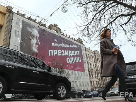 За Порошенко в первом туре проголосовали бы 17,1% опрошенных