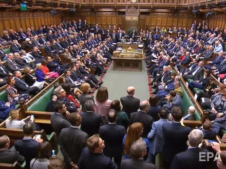 Парламент Великобритании проголосовал против сделки по Brexit