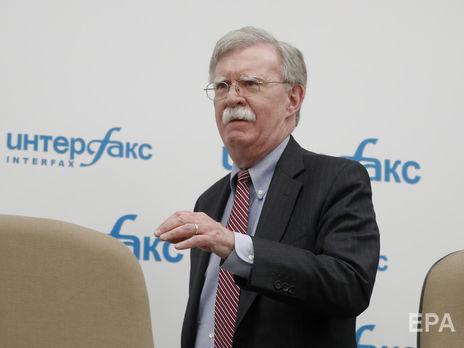 Болтон заявил, что США будут рассматривать развертывание иностранных войск в Венесуэле как угрозу международному миру и безопасности в регионе