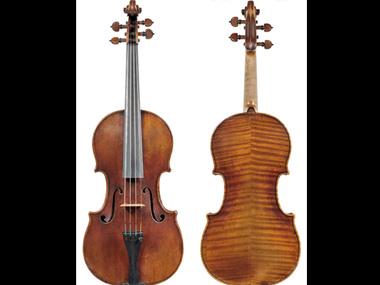 Скрипка принадлежит Френку Алмонду