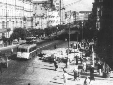 Киев летом 1941 года