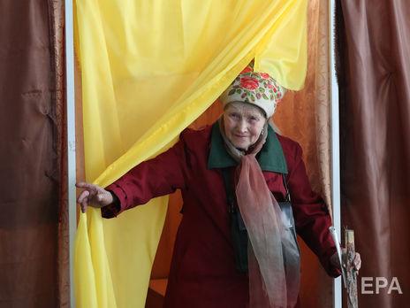 31 березня в Україні відбувся перший тур чергових президентських виборів