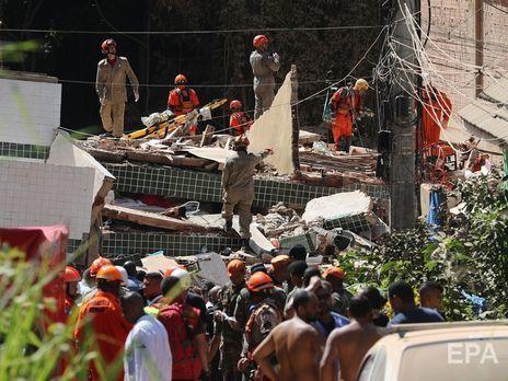 ВБразилии рухнули два жилых дома