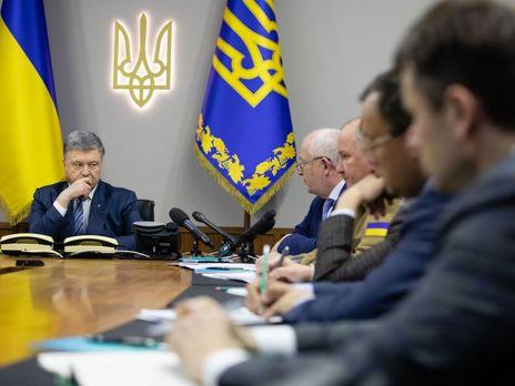 Порошенко: Нужно объективно и независимо обеспечить перезапуск Окружного административного суда Киева