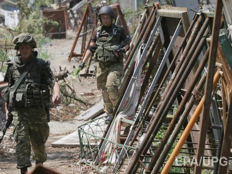 Военные пока не собираются покидать Широкино