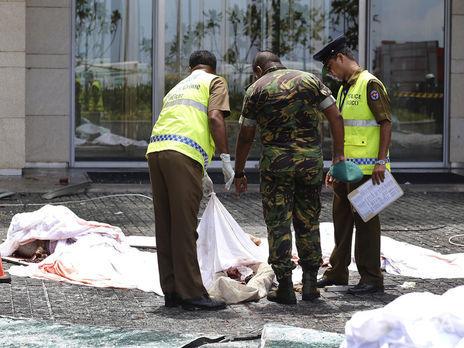 Серия взрывов в Шри-Ланке произошла 21 апреля