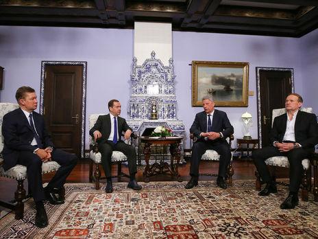Медведев напомнил новым властям государства Украины опредложениях Российской Федерации поцене нагаз