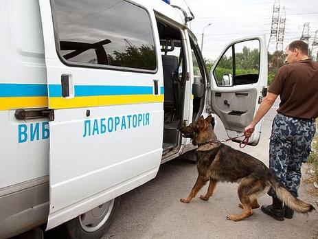 В Киеве заминировали Lexus
