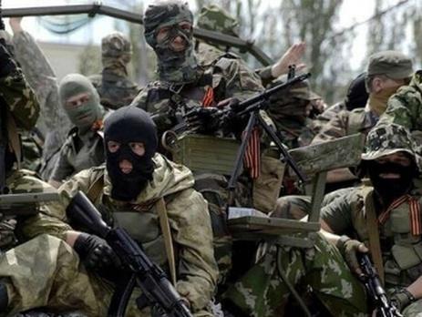 Os militantes do grupo aterrorizou Cérebro Lisichansk