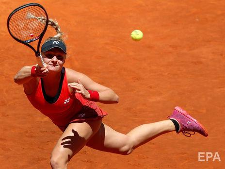 Ястремська посідає 42-ге місце в рейтингу WTA