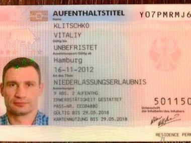 Картинки по запросу Кличко Гражданин США