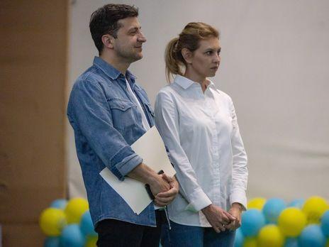 Зеленский с женой Еленой принял участие в открытии летнего антинаркотического лагеря
