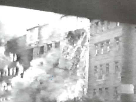 Взрыв здания Почтамта на Крещатике, 1941 год