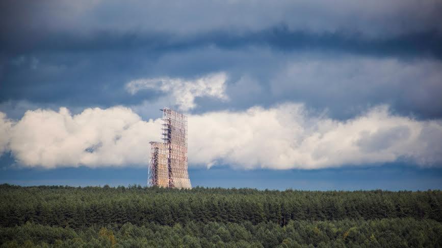 """Объект """"Чернобыль-2"""". Кадр из фильма """"Русский дятел"""""""