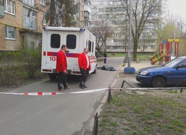 Место убийства Олеся Бузины. Фото: magnolia-tv.com