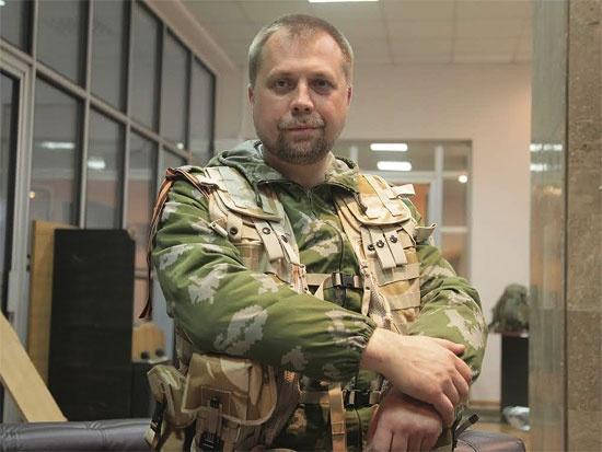 Перед Донецком Александр Бородай побывал в Крыму. Фото: zavtra.ru